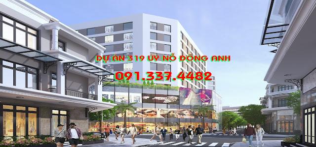 Tổng quan giá bán Dự án 319 Uy Nỗ Đông Anh liền kề shophouse 319 Bộ Quốc Phòng