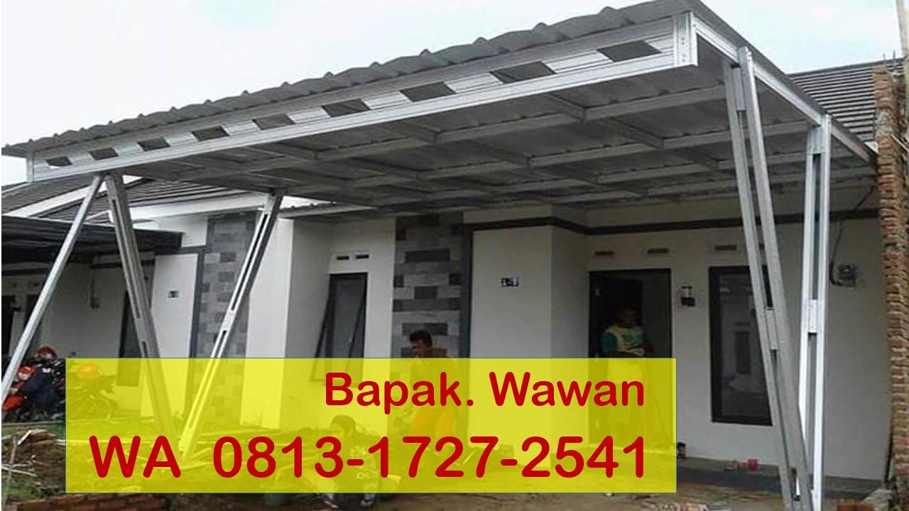 Kanopi Baja Ringan Tangerang Meyga Karya Steel Wa 0813 1727 2541 Harga