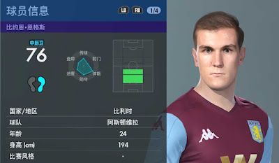 PES 2020 Faces Björn Engels by Obeymyself
