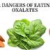 12 perigos de comer alimentos com oxalatos
