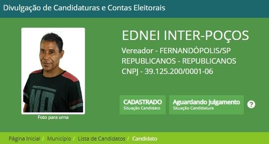 Acidente em  Euclides da Cunha mata candidato a vereador de Fernandópolis