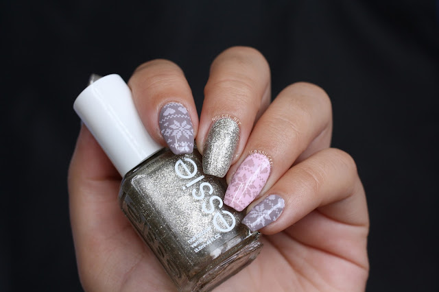 valentines day nail art essie beyond cozy