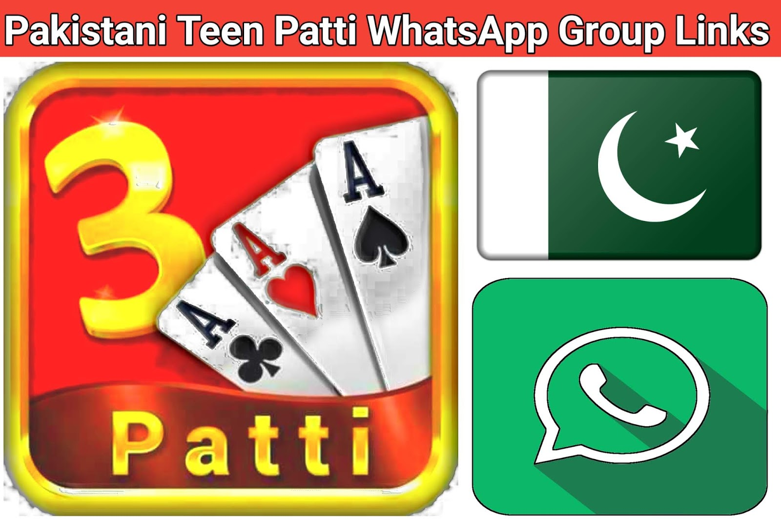 Pakistan Teen Patti WhatsApp Group Link - Teen Patti Game