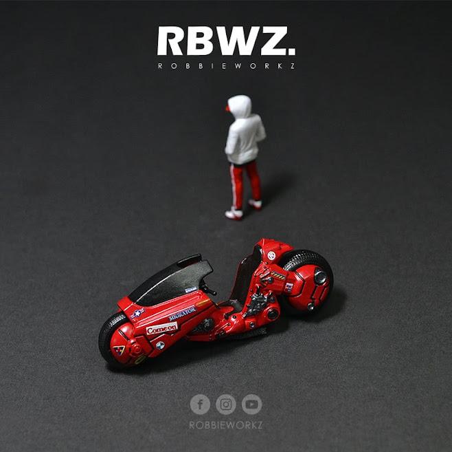 Akira Kaneda Bike by RobbieWorkz