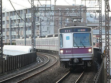 【ダイヤ改正で日中廃止!】各停 渋谷行き8 東京メトロ8000系
