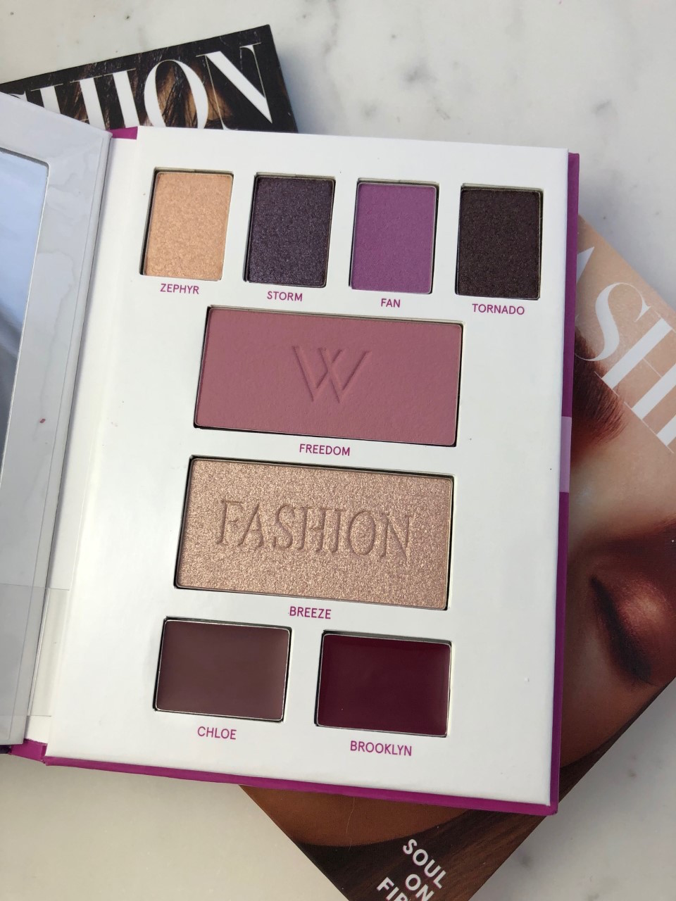 Lise Watier x Fashion Collection: A quick review