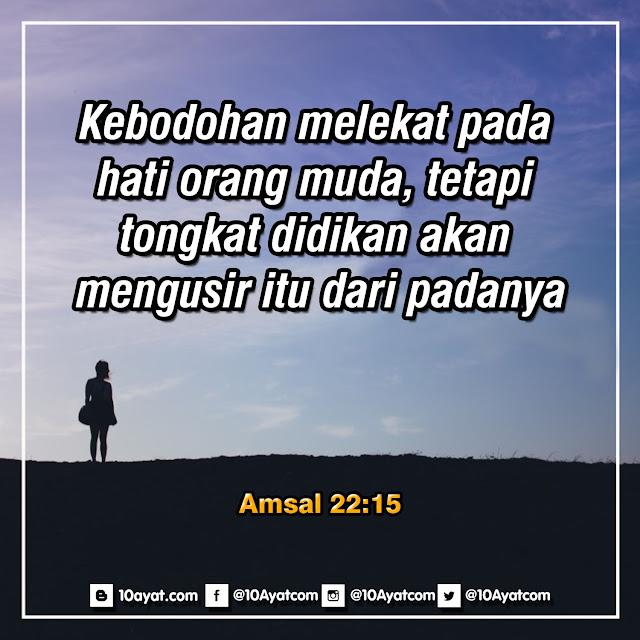 Amsal 22:15