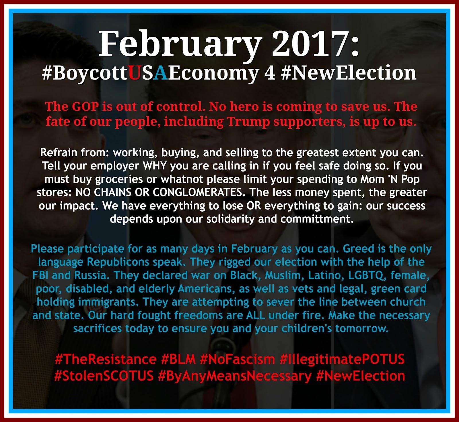 boycott the us economy