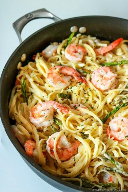 Garlic Butter Shrimp Pasta - 2