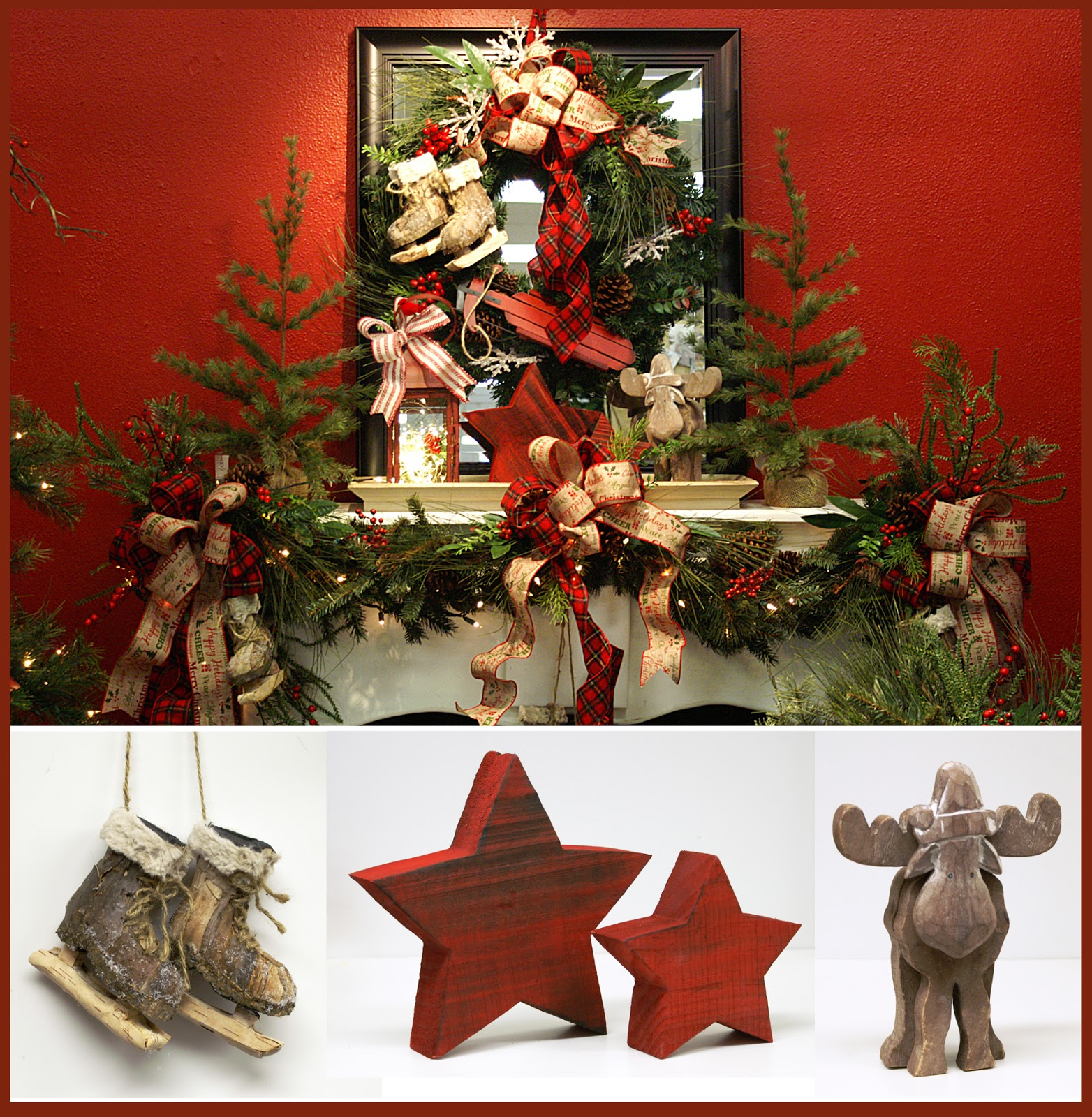 ben franklin crafts and frame shop deck your halls fireplace mantel christmas decorating ideas