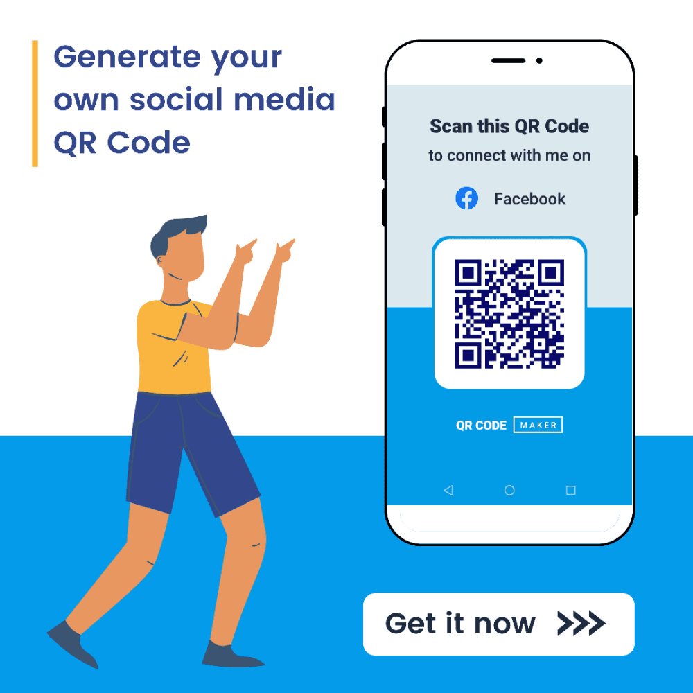 qr code generator, qr code creator, qr code maker, social media qr code