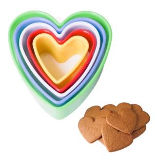 Cortadores de Biscoito Formato de Coração