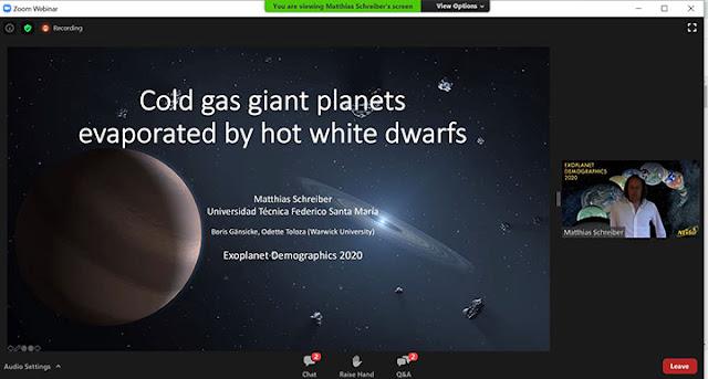 Photoionization of cold gas giant planets (Source: Matthias Schreiber, Exoplanet Demographics 2020)