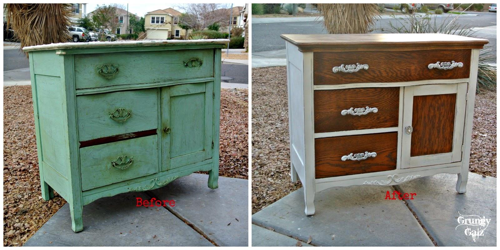 grungy galz little cottage dresser. Black Bedroom Furniture Sets. Home Design Ideas
