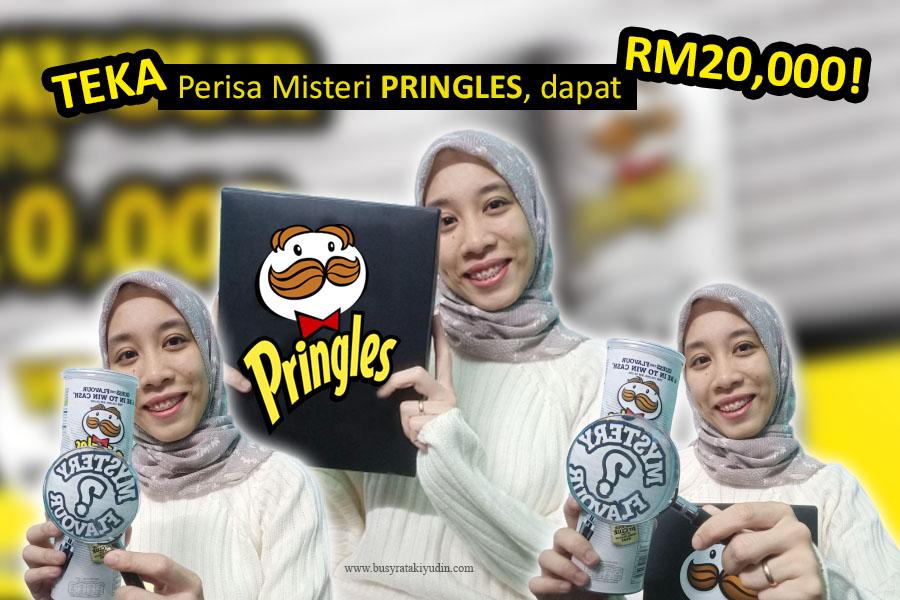 contest, pringles malaysia, perisa misteri pringles, kerepek pringles, hadiah wang tunai,
