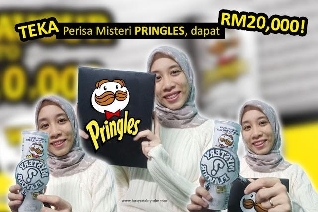 TEKA PERISA MISTERI PRINGLES DAN MENANG HADIAH TUNAI RM20,000!
