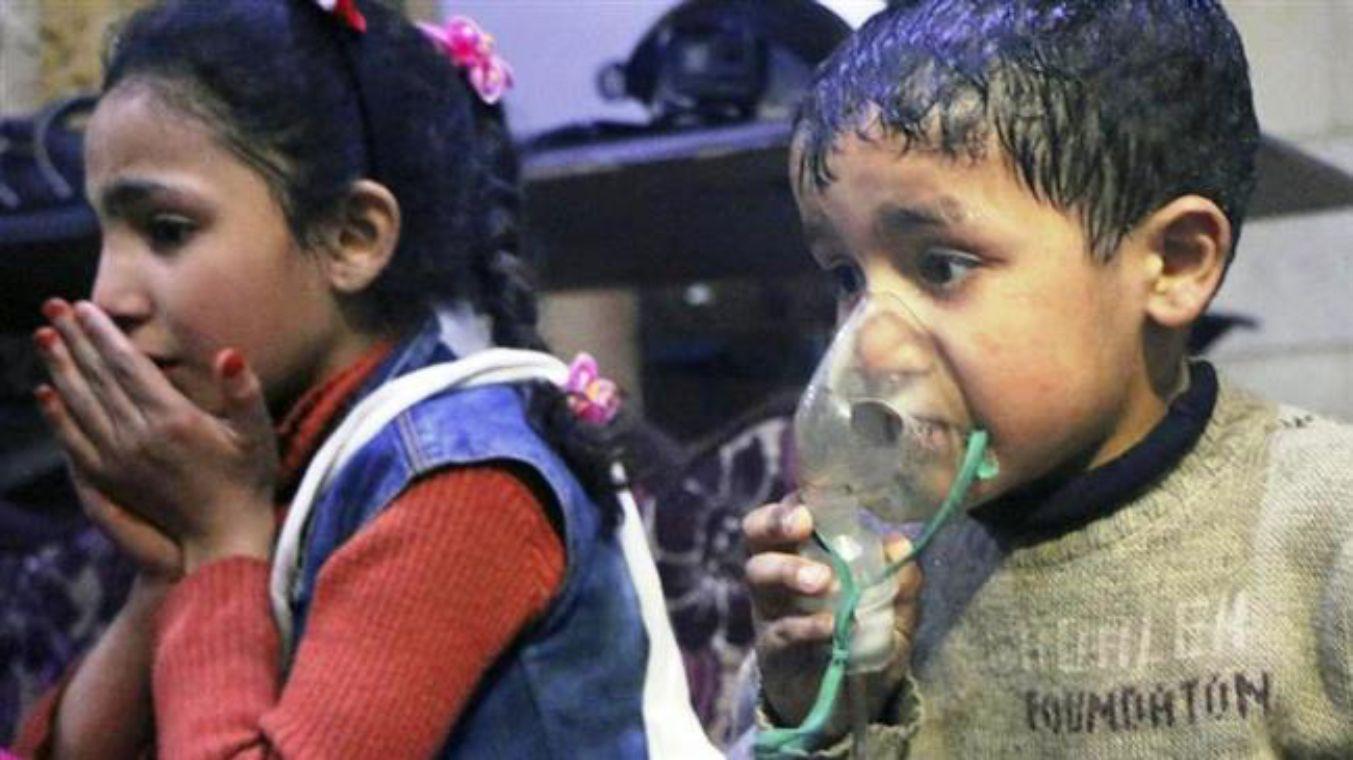 Anak-anak Suriah diculik untuk digunakan dalam serangan kimia palsu di Idlib