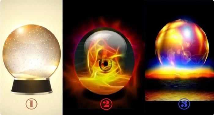 Выберите хрустальный шар, который предскажет, что вас ждет в ближайшие дни