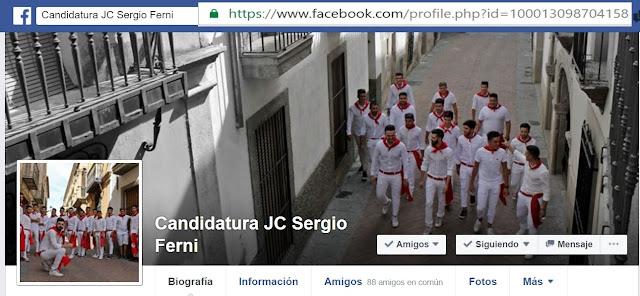 Candidatura JC Sergio Ferni