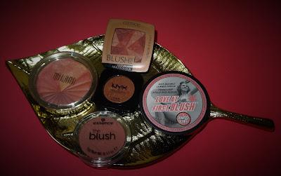 geschiedenis van blush