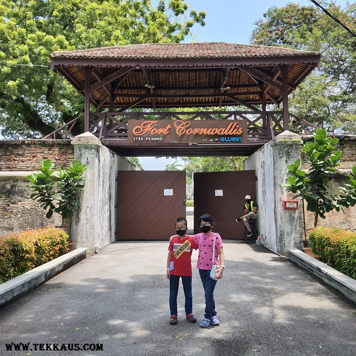 Fort Cornwallis-Your Tickets To The Past In Penang
