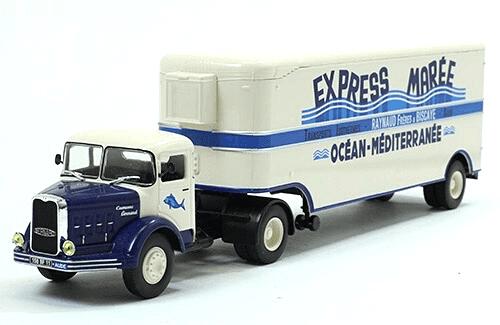 bernard 150 mb 1/43 express maree, coleção caminhões articulados altaya, coleção caminhões articulados planeta deagostini, coleção caminhões articulados 1:43