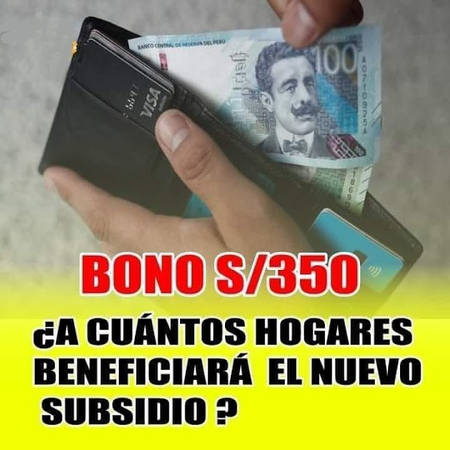 Bono 350 Soles: YANAPAY