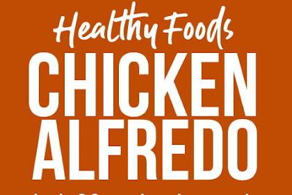 Healthy Chicken Alfredo with Spaghetti Squash