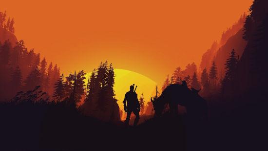 The Witcher Wild Hunt - Couché de Soleil - Full HD 1080p