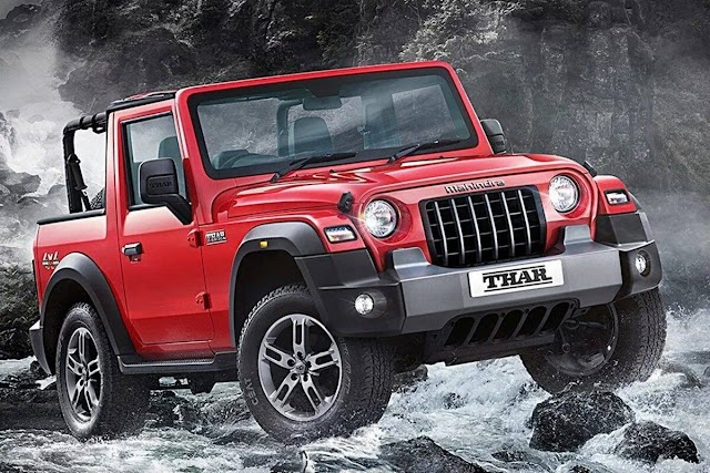 The predictions were blown to smithereens.  Mahindra announces price of Thar;  Booking from today