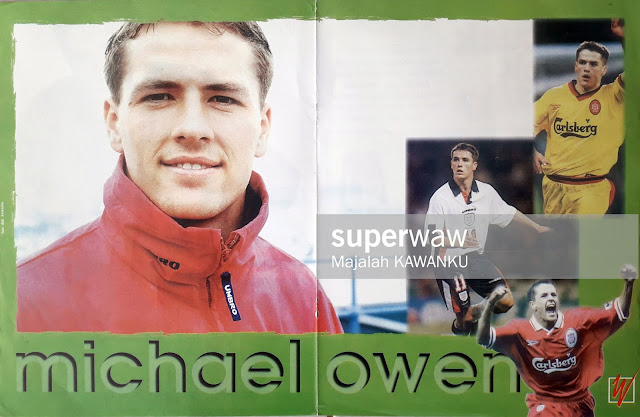 MICHAEL JAMES OWEN ENGLAND / LIVERPOOL