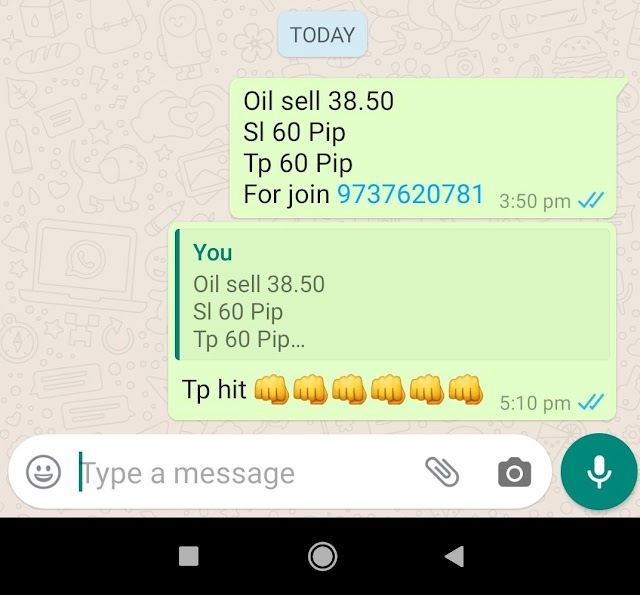 11-06-2020 Forex Trading Commodity Crude Oil Signal Prices