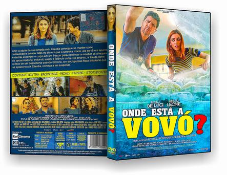 DVD Onde Está a Vovó 2019 -AUTORADO