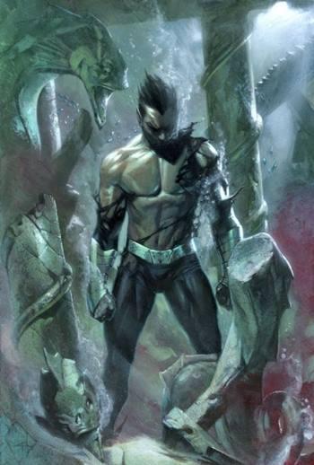Superhéroe marino de Marvel
