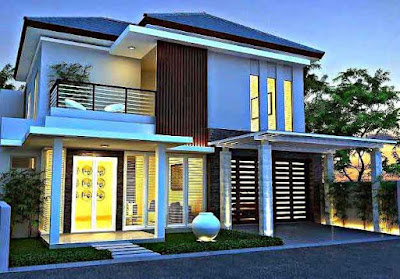 Inspirasi Desain Rumah Minimalis yang Bagus 2 Lantai