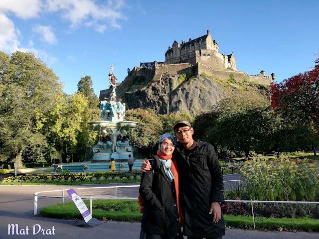 Jelajah Tempat Menarik di Edinburgh