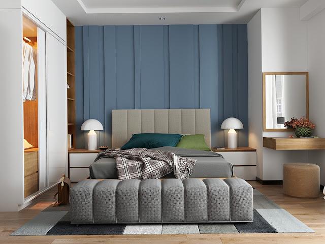 5 màu sắc làm cho phòng ngủ thêm phần lãng mạn 1