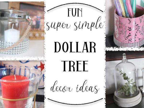 FUN SUPER SIMPLE DOLLAR TREE IDEAS | DIY PROJECTS