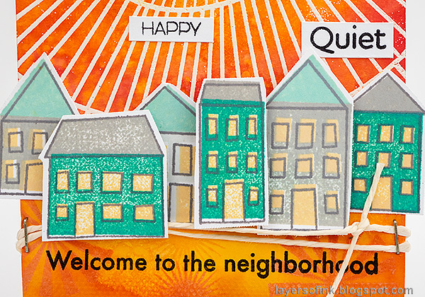 Layers of ink-Sunny Neighborhood Tag Tutorial by Anna-Karin Evaldsson. With Simon Says Stamp STAMPtember.