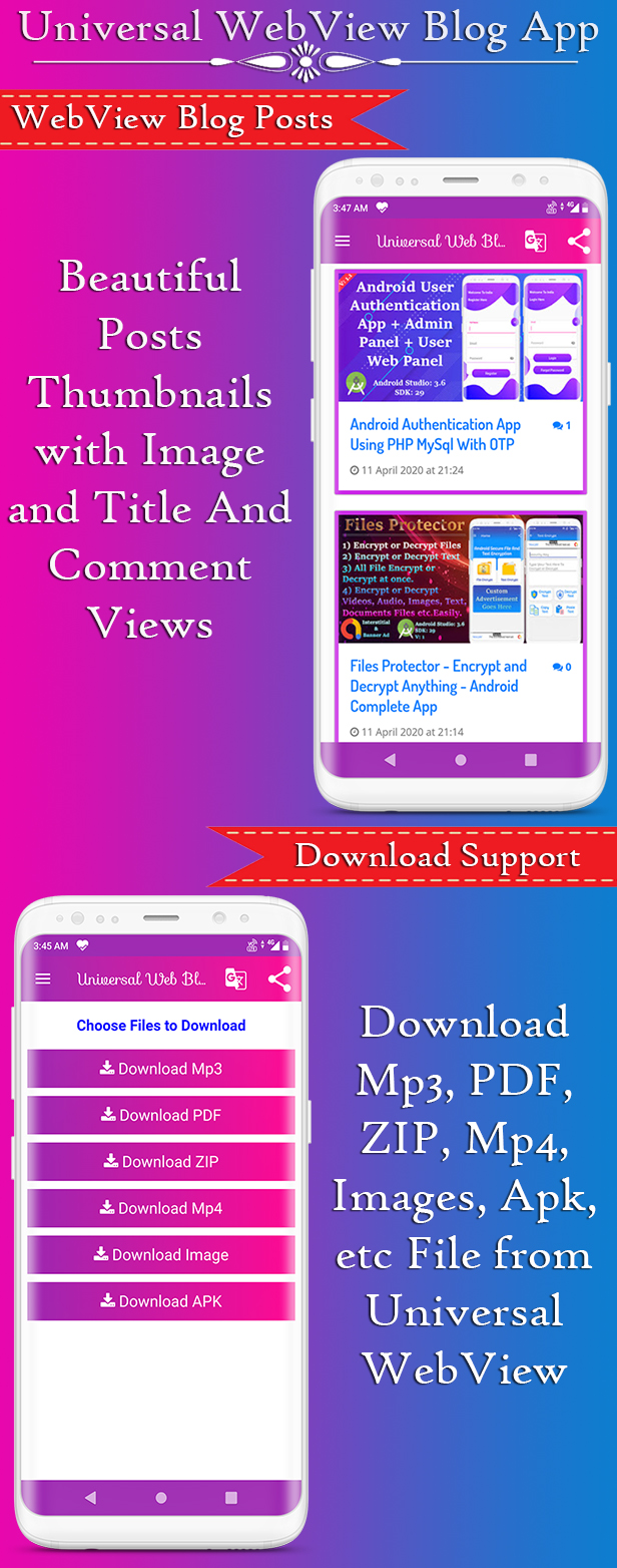 Universal WebView 2 App Bundle with Admin Panel - 2