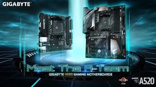 GIGABYTE Launches AMD A520 Chipset Motherboard With Stable Performance