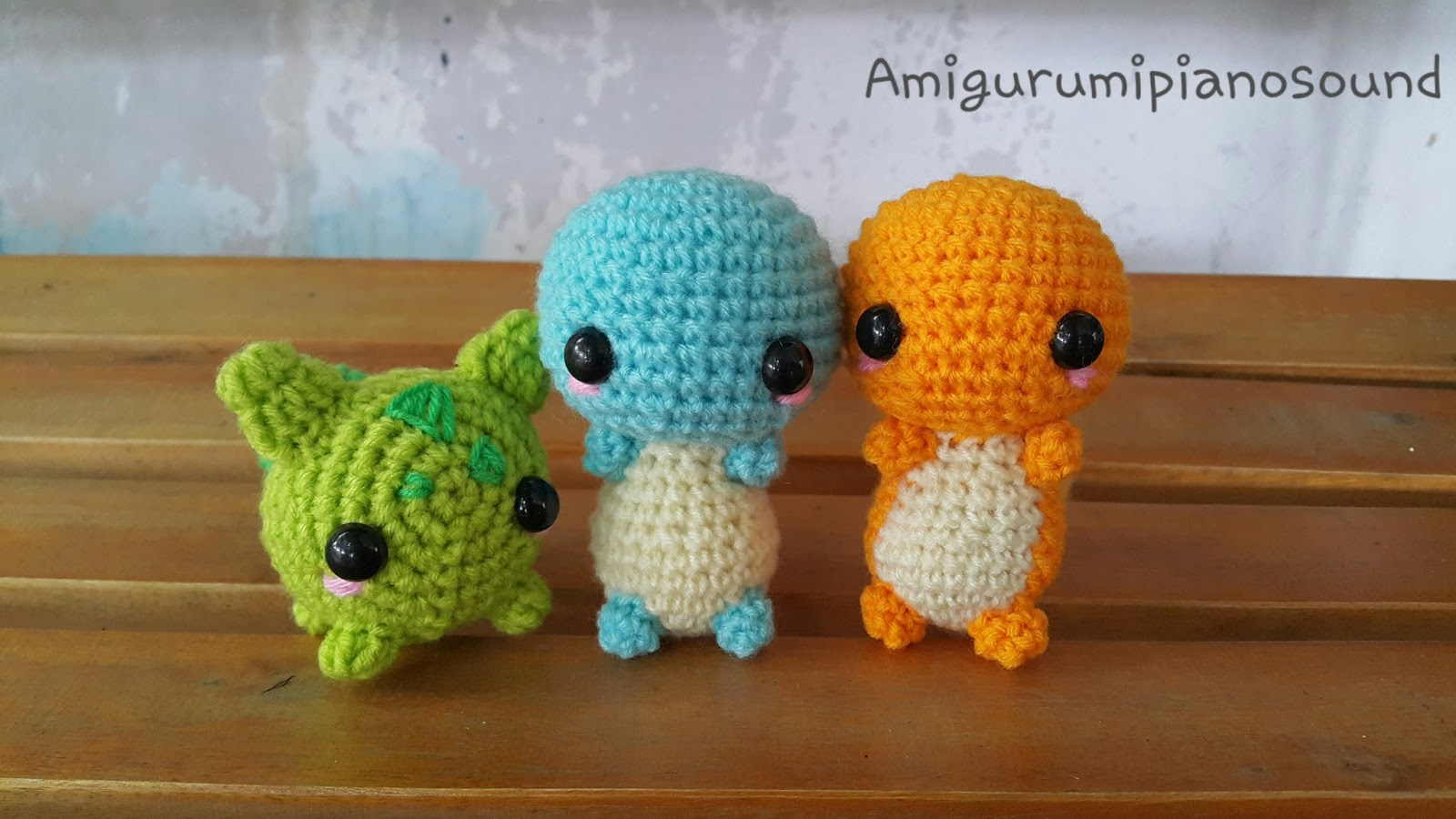 Amigurumi Pokemon Patterns Free : Amigurumipianosound crochet charmander hitokage pokemon