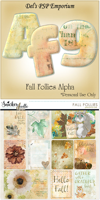Fall Follies Alpha Set