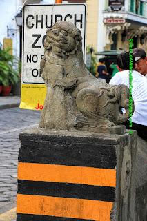 sculptures, san augustin church, Intramuros, Manila, Philippines