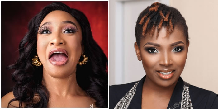 Finally, Annie Idibia Replies Tonto Dikeh's Threat