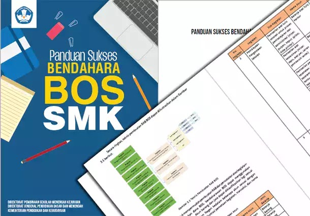 Buku Panduan Sukses Bendahara BOS SMK dari Kemdikbud