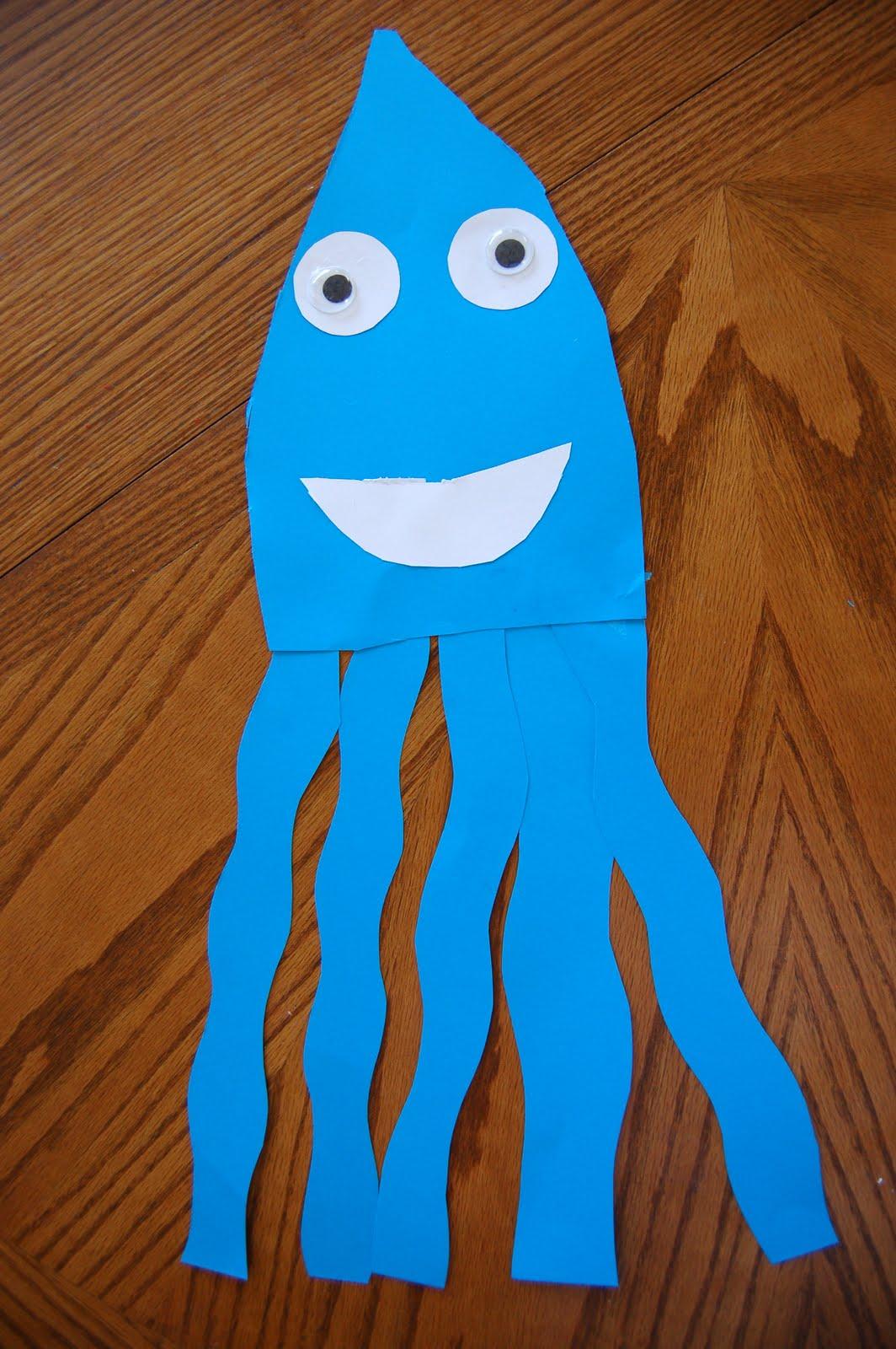 Octopus Worksheet For Preschoolers
