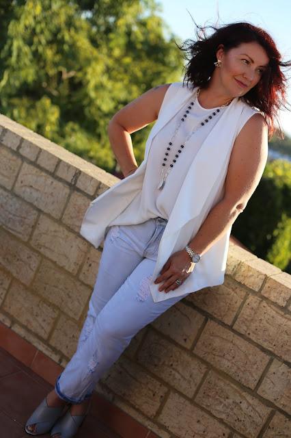 The Fashionable Mum featuring Rockmans Denim