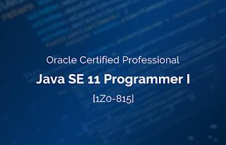 best practice test for Java SE 11 certification