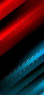 خلفيات ايفون خطوط حمراء و زرقاء